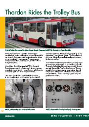 Thordon Rides the Trolley Bus