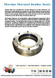 Thorseal Rudder Seal brochure