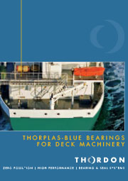 ThorPlas-Blue Bearings For Deck Machinery