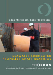 Seawater Lubricated Propeller Shaft Bearings
