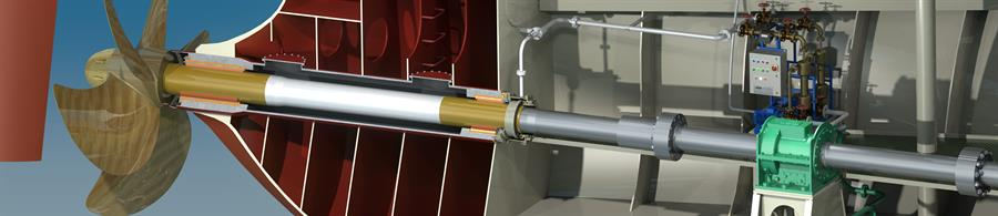 COMPAC prop shaft with WQP drawing