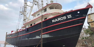 Maros Vessel Fitted with Thordon Products