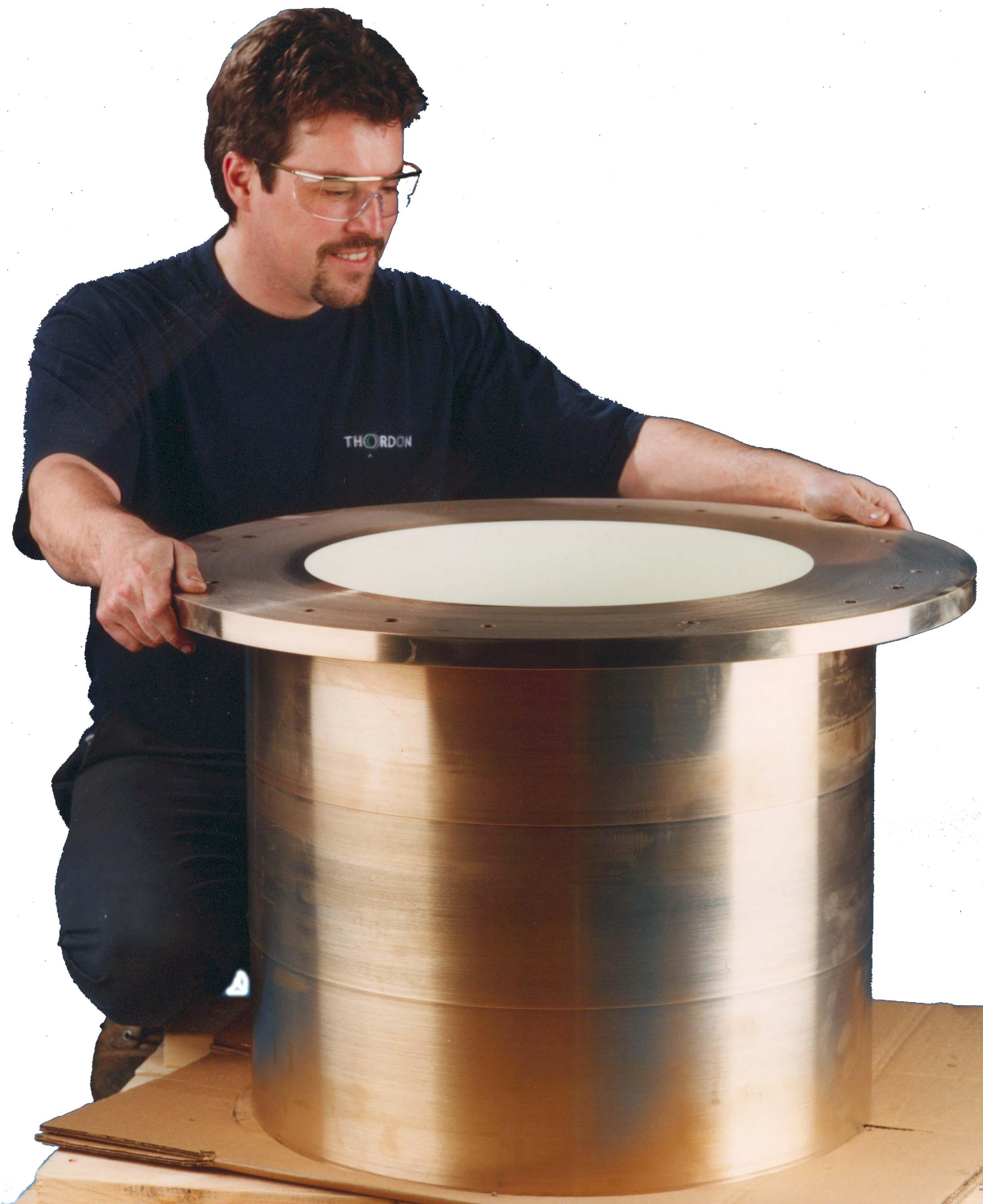 Canard Rudder Bearing Image